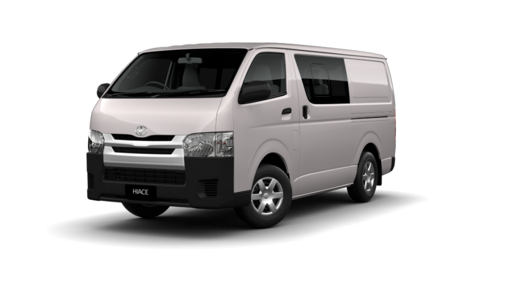 hiace Long Wheelbase Crew Van French Vanilla front 940x529 1
